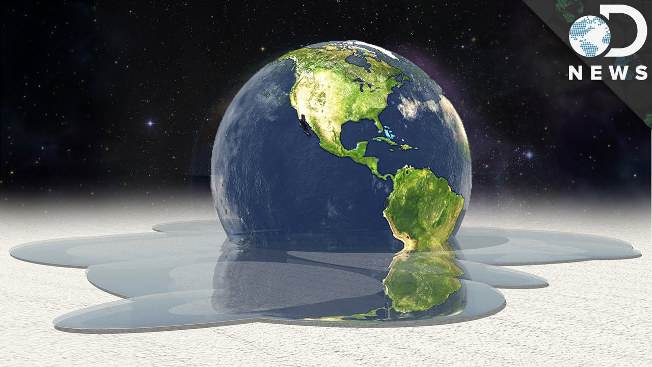Us Map After Global Warming - Map reveals what the earth would look like if all the polar ice melted 2