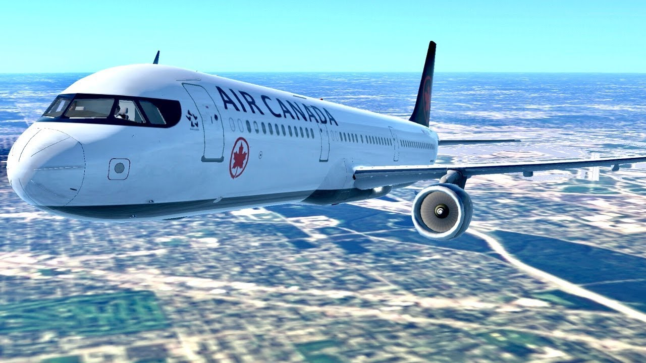 Chicago To Montreal - Air Canada A321 - Infinite Flight Global - Live