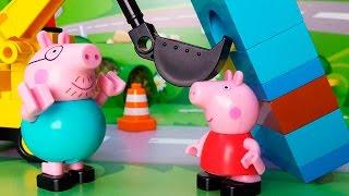 Пеппа. Новые серии. Свинка Пеппа и Машинки. Пеппа мультфильм для детей 2016 Новые серии 2016 года