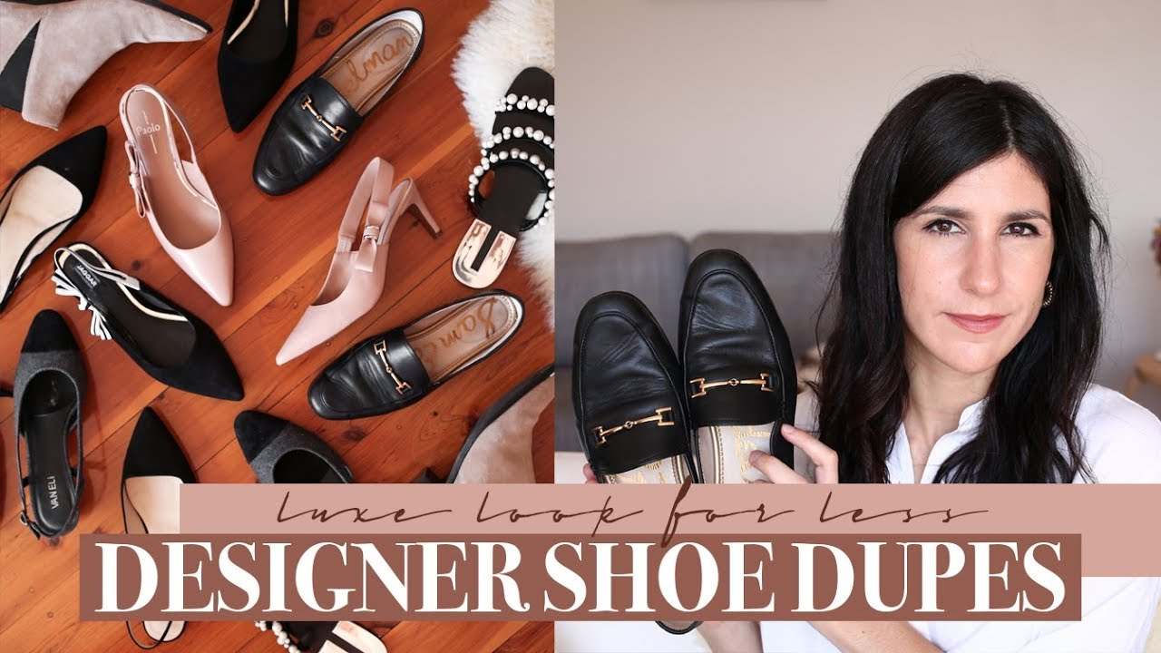 8db475b10 Designer Shoe Dupes - Get the Luxe Look for Less