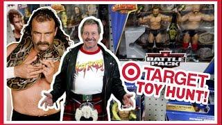 TOY HUNT!!! GETTING ROWDY IN TARGET!!! WWE WRESTLING FIGURE FUN #105