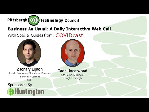 CMU and Google Talk About COVIDcast on Business as Usual