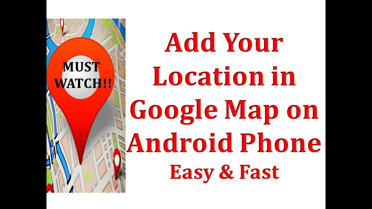 Add My Location On Google Map on