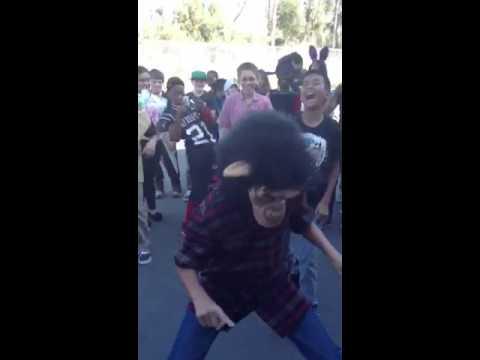 Dance off at De PORTOLA Middle School