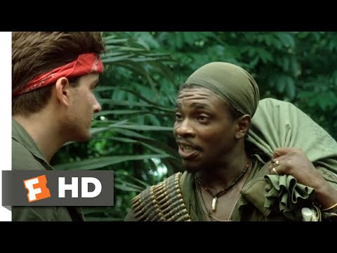 Platoon (1986) - Pecker Hard, Powder Dry Scene (9/10) | Movieclips