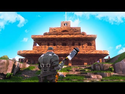 WORLD'S BIGGEST BASE! (Fortnite #1)