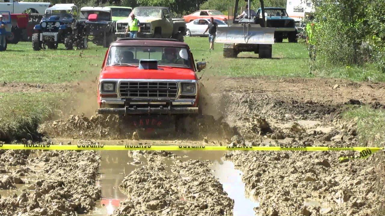 79 Ford Truck Mudding At Clio Mud Bog