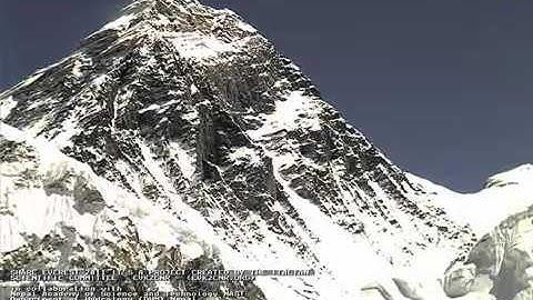 Mount Everest Live Webcam