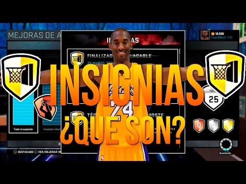 NBA 2K16 | INSIGNIAS ¿QUE SON? ¿COMO SE CONSIGUEN?