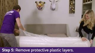 How To Unroll Your Purple Mattress