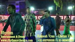 Babla Chhand in Audiance by Rhythm Orchestra of Kalpesh Vyas Chetan Vyas