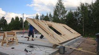 видео Сборные дома из бруса: строительство пошагово