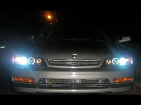 Customizing a 94 Honda Accord from start to finish (FULL HD)