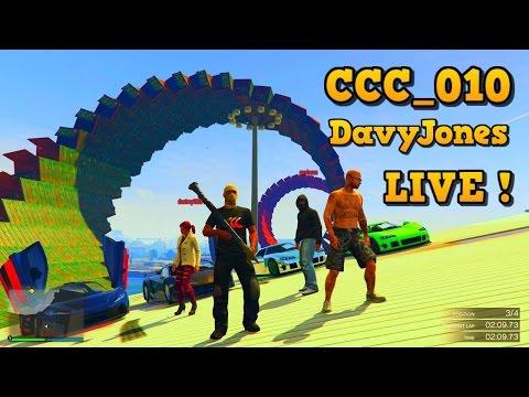 GTA 5 -- CCC_010 Live Stream w/ DavyJonesRJ & GCCC CREW Raceday Wednesday #53