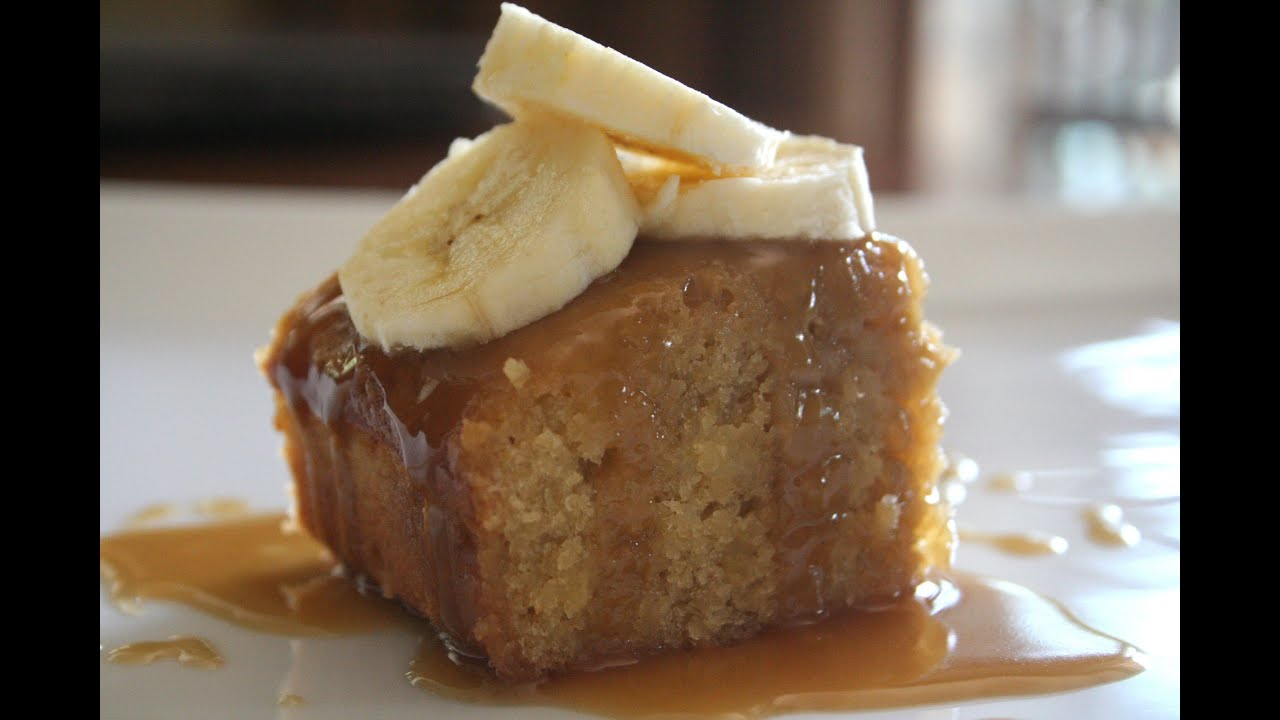 how to make butterscotch self saucing pudding
