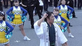 関西大学学園祭2018<後夜祭>【1】応援団 図書館前スタート