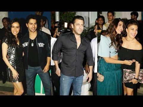 ABCD 2 Success Party - Varun Dhawan   Shraddha Kapoor   Salman Khan   Jacqueline Fernandez