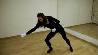 Онлайн-уроки по технике пантомимы. Фронтальный канат
