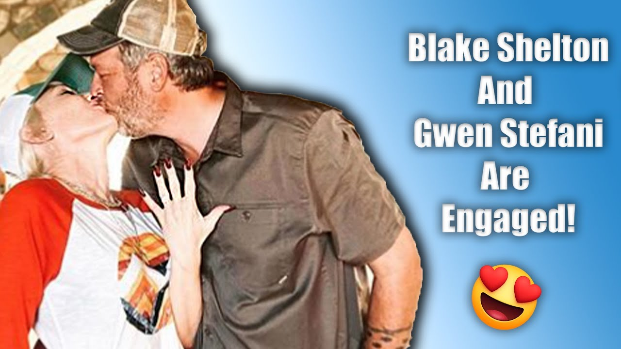 Blake Shelton & Gwen Stefani Reveal Their Engagement