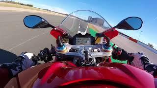 Ducati Panigale V4 S On Board Lap @ Valencia Circuit - Motociclismo