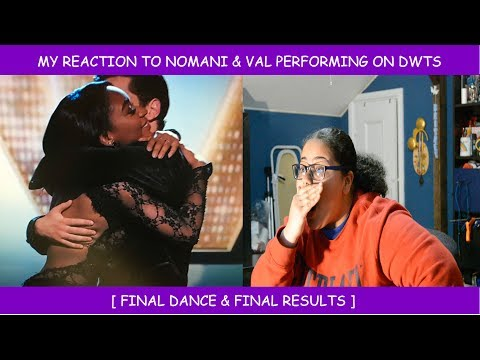 My Reaction To Normani & Val On Dancing With The Stars ~ Final Dance & Final Resutls