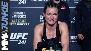 UFC 241: Hannah Cifers full post-fight interview