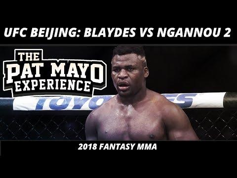2018 Fantasy MMA: UFC Beijing DraftKings Picks & UFC Fight Night 141 — Blaydes Vs Ngannou 2