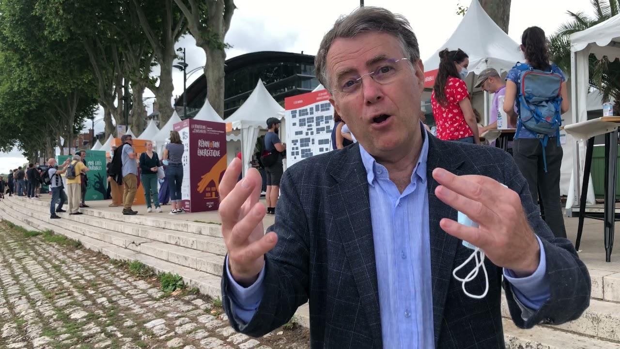 Lancement du village de la transition écologique à Orléans