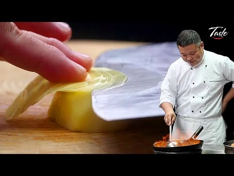 Satisfying Knife Skills - Cut Potato L Chinese Recipes By Masterchef
