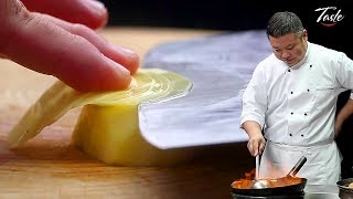 Satisfying Knife Skills - Cut Potato l Chinese Recipes by Masterchef
