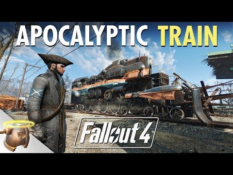 Fallout 4: Building an APOCALYPTIC BATTLE TRAIN at Bedford Station | Ep. 1