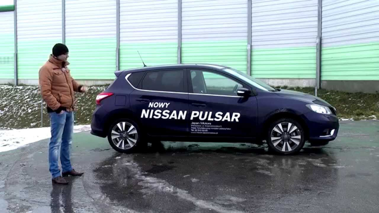 nissan pulsar 1 2 dig t acenta 2015 test pl youtube. Black Bedroom Furniture Sets. Home Design Ideas