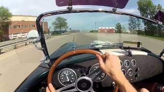 FFR Shelby Cobra Replica POV Driving Experience