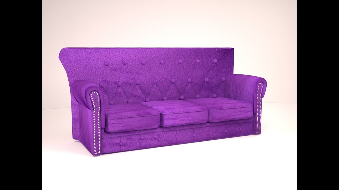3ds Max Tutorial How To Model A Sofa In 3ds Max YouTube
