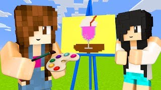 Minecraft Pixel Painters - MILKSHAKE e FELICIDADE