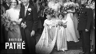 Wedding Of Lord Baden-Powell's Daughter (1936)