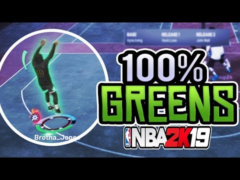 THIS JUMPSHOT IS A GREEN RELEASE GLITCH! NBA 2K19 BEST JUMPSHOTS AFTER NEW PATCH!!