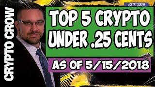 Top 5 Crypto Under .25 Cents w/ Marshall Medallion
