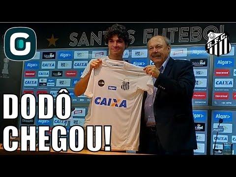 Dodô é Apresentado No Santos | Sem Ganso- Gazeta Esportiva (23/02/18)