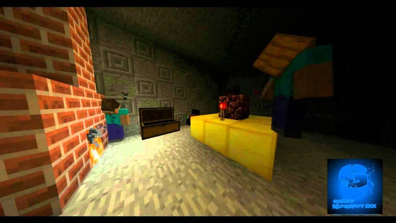 La verdadera historia de herobrine youtube for Videos de minecraft en la vida real