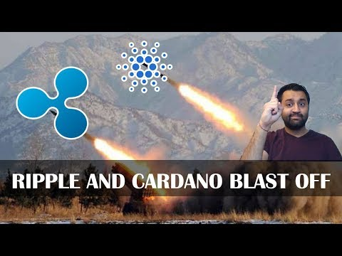 🚀 Ripple & Cardano Blasts OFF | Coinbase Rumors | Live Charting | Price Predictions 🔴
