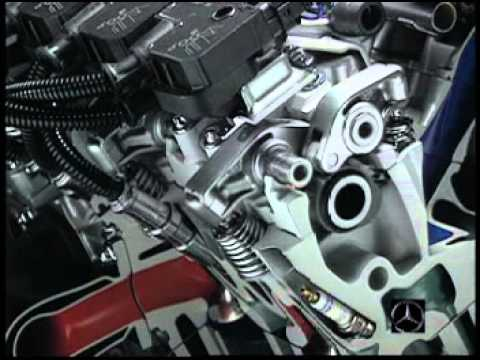 Motor Mercedes C320 cambio de juntas de cabeza - YouTube