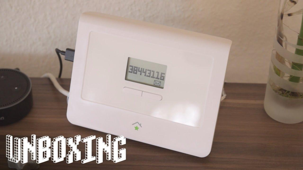 innogy smarthome starter paket energie unboxing kompatibel mit amazons echo youtube. Black Bedroom Furniture Sets. Home Design Ideas