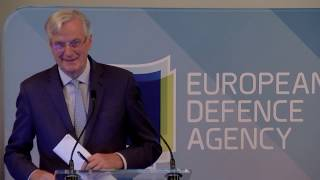 EDA Annual Conference 2019: Michel Barnier speech (highlights)