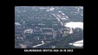 Kaliningrad invites AGA 16 in 2015
