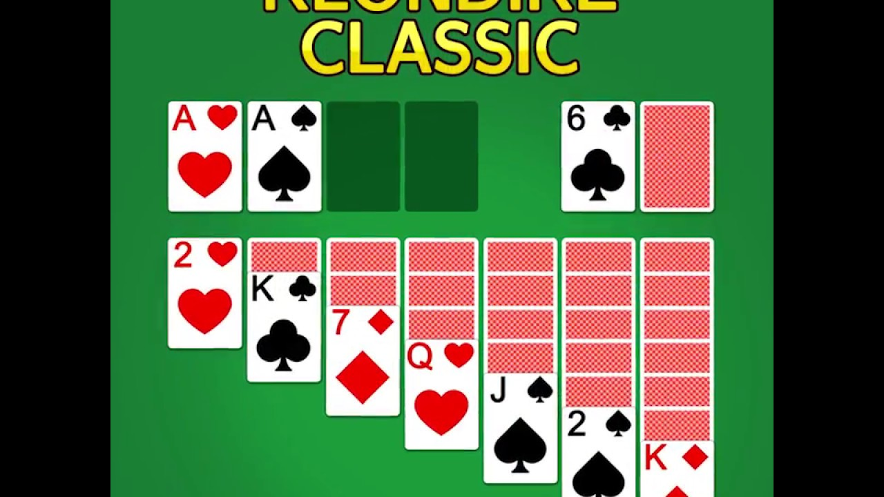 Classic Solitaire Klondike Offline Card Game Youtube