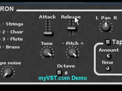 MELTRON - Free VST - myVST Demo