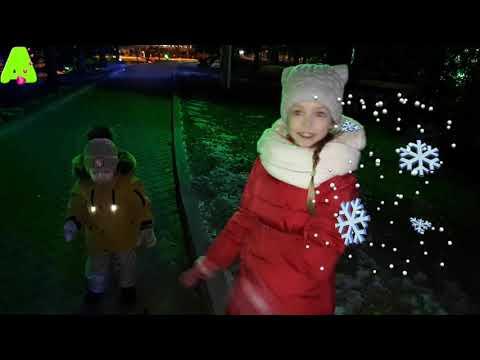 Аришкина  прогулка по вечернему Красноярску Arishkina Walk In The Evening Krasnoyarsk