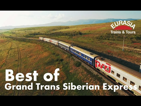 Best of Trans Siberian train Moscow - Ulaanbaatar - Beijing