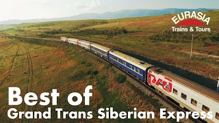 Best of Trans Siberian train Moscow - Ulaanbaatar - Beijing 8000km Aerial/ Транссиб с высоты(One of the world's greatest travel experiences. Russia – Mongolia – China. 8000km transcontinental rail journey between Asia and Europe by private train., 2017-02-05T09:57:44.000Z)